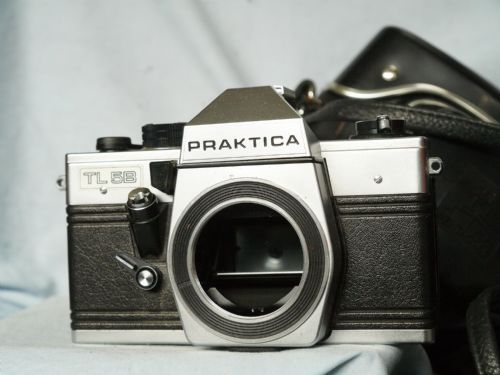 Praktica TL5B M42 SLR Camera Cased - Mechanical SLR -